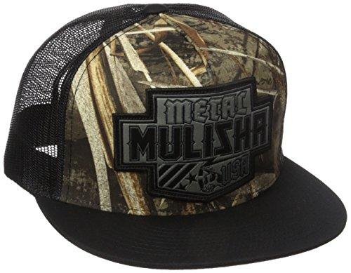 metal-mulisha-coalition-trucker-snapback-hat-pour-hommes-o-s-real-tree
