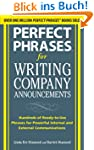Perfect Phrases for Writing Company A...