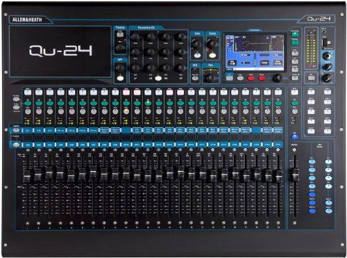 Why Should You Buy Allen & Heath Qu-24 24-Channel Digital Mixer