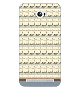 PrintDhaba Tower Pattern D-1789 Back Case Cover for ASUS ZENFONE MAX ZC550KL (Multi-Coloured)