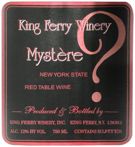 Nv King Ferry Mystere Red Blend New York State 750Ml
