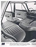 1967 Fiat 125 Interior Factory Photo