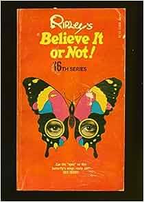 Ripleys believe it or not book amazon