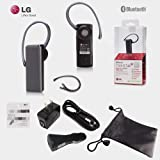 Professional LG-280 A+ Bluetooth Headset with Noise and Echo Reduction for Samsung Phones also inlcuded with the Pacakge Wall Charger Car Charger and Pouch