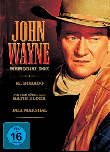 John Wayne Memorial-Box [3 DVDs]