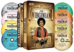 The Virginian: The Complete Third Season (Collectible Embossed Tin)