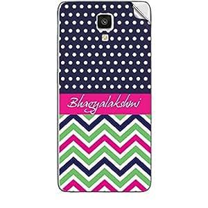Skin4Gadgets Bhagyalakshmi Phone Skin STICKER for XIAOMI MI 4