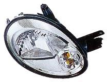 Eagle Eyes CS116-B101L Dodge Driver Side Head Lamp Assembly