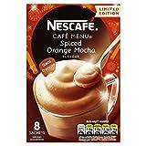 Nescafé Cafe Menu Spiced Orange Mocha 21.5 g (Pack of 6, Total 48 Sachets)