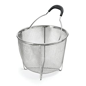 Amazon.com: Polder Strainer/Steamer Basket, Stainless Steel