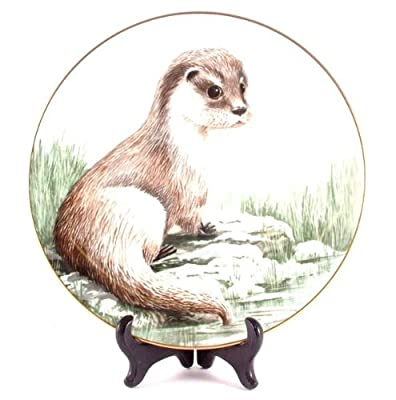 Staffordshire Winters Orphan from the Wildlife in Winter series by Kevin Platt CP608