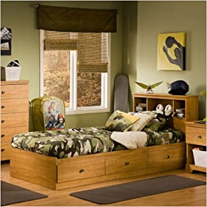 Bundle-21 Billy Twin Mates Bed (2 Pieces) by South Shore