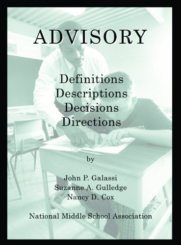 Advisory: Definitions; Descriptions; Decisions; Directions