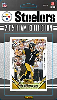 Pittsburgh Steelers 2015 Score Factory Sealed Complete Mint 14 Card Team Set Including Ben Roethlisberger, 4 Rookie Cards Plus
