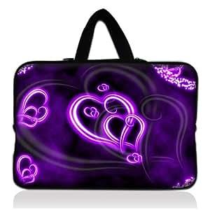 Coeur violet 13 et 13 3 housse pour ordinateur portable for Sony housse de transport lcscsj ae