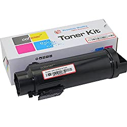 3,000 Pages Coloner(TM) Compatible Dell Hicap H625 / H825 / S2825 Toner Cartridges (2825: black)