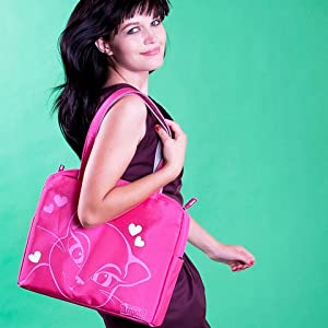 Amazon.com: Talking Angela Pink Laptop Bag: Computers & Accessories