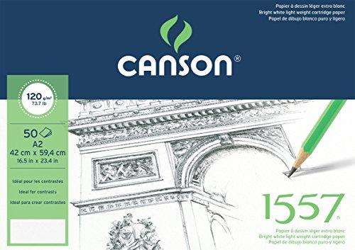canson-bloc-50-feuilles-papier-a-dessin-120-g-grain-leger-a2-blanc-pur