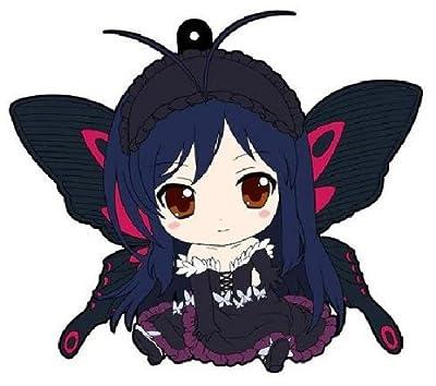 アクセル・ワールド ぺたん娘ラバーストラップ 黒雪姫 アバター
