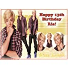 "Single Source Party Supply - Austin & Ally Edible Icing Image #2 - 8.25"" Round"