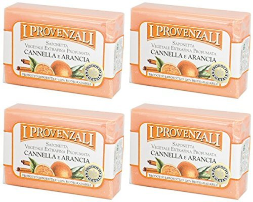 i-provenzali-cannella-e-arancia-vegetable-perfumed-soap-cinnamon-and-orange-scent-35-ounce-100g-pack