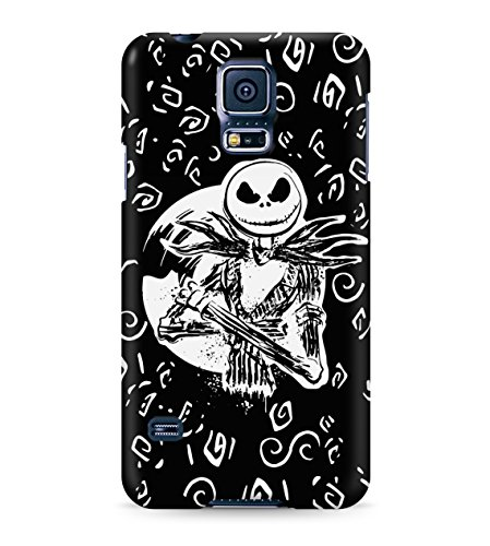 Nightmare Before Christmas Jack Skellington Hard Plastic Snap On Back Case Cover For Samsung Galaxy S5 Custodia