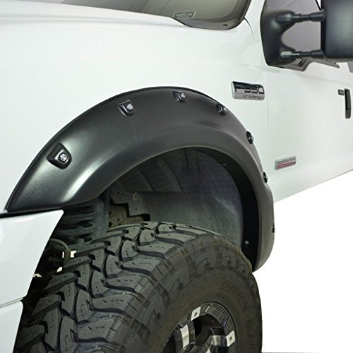 Auxmart 4pcs Pocket Style Fender Flares for 1999-2007 Ford F250 F350 (Ford Wheel Flares compare prices)