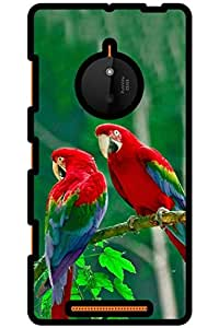 IndiaRangDe Hard Back Cover FOR Microsoft Nokia Lumia 830