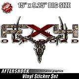 FX4 Camo Deer Skull Hunting F-150 Truck Sticker bowtech hoyt mathews