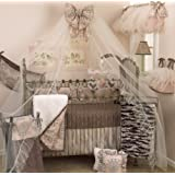 Cotton Tale Designs 8 Piece Crib Bedding Set, Nightingale