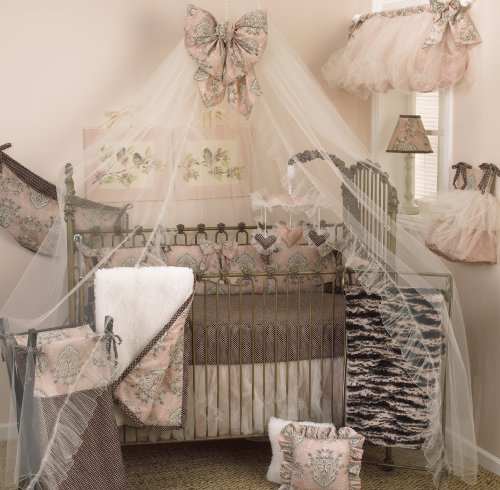 Cotton Tale Designs 8 Piece Crib Bedding Set, Nightingale image