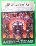 KANSAS Audio Visions & s/t Vinyl Lot Of 2 LP Vinyl VG+ Cov VG Lyric Sleeve