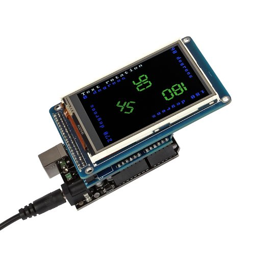 """Sainsmart Tft Lcd Screen Kit For Arduino Uno R3 (3.2"""" Lcd, With Shield + Uno R3)"""