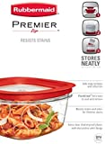 Rubbermaid Premier Food Storage Container, 3-Cup (Pack of 3)