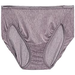 Vanity Fair Women's Body Shine Illumination Hi-Cut Brief
