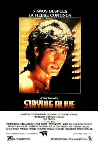 Staying+Alive+Poster+Movie+Spanish+11x17+John+Travolta+Cynthia+Rhodes+Finola+Hughes+Norma+Donaldson