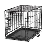 Petedge Easy Wire Dog Crate, Medium, Black