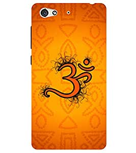 Chiraiyaa Designer Printed Premium Back Cover Case for Gionee S6 (Om devotional) (Multicolor)