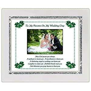 Wedding Gifts For Parents Ireland : Amazon.com - Wedding Gift For Parents of the Bride or Groom - Irish ...