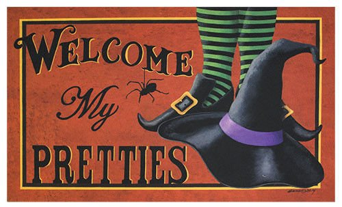 Indoor Halloween Decorations  Simply Spooktacular ~ 010317_Halloween Doormat With Sound