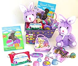 Easter purple basket gift set
