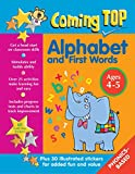 img - for Coming Top Alphabet and First Words Ages 4-5: Get A Head Start On Classroom Skills - With Stickers! book / textbook / text book