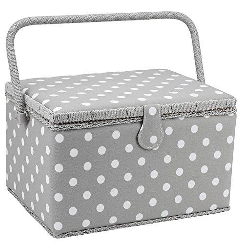 patron-de-puntos-caja-de-costura-matt-pvc-blanco-en-gris-grande-235-x-31-x-20cm