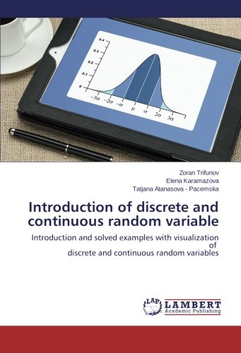 Introduction of discrete and continuous random variable: Introduction and solved examples with visualization of discrete