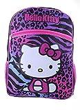 Hello Kitty Animal Print School Backpack