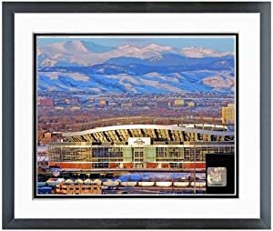 Denver Broncos Invesco Field at Mile High Stadium Photo (Size: 22.5 x 26.5) Framed by NFL