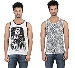 Funky Combo of 2 Printed Vest by Bfly