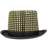 Funkelnder Zylinder Hut mit Pailletten