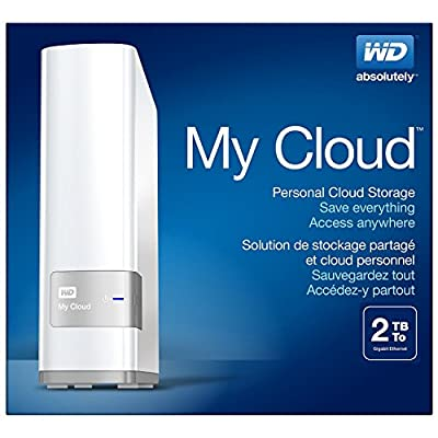 Western Digital My Cloud WDBCTL0020HWT-EESN 2TB External Hard Drive (White)