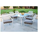 7 - Pc. Steel Patio Dining Set